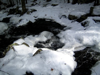 Another View of the partially frozen stream